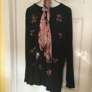 Ladies tunic and pant set